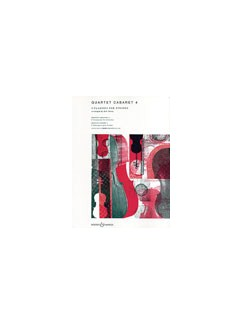 Quartet Cabaret 4 (Parts) Books | String Quartet