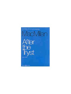 James MacMillan: After The Tryst Books | Violin, Piano Accompaniment