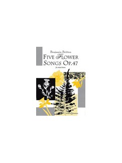 Benjamin Britten: 5 Flower Songs Op.47 Books | SATB