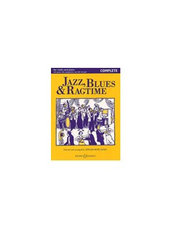 Jazz Blues And Ragtime (Complete Edition) Books | Violin