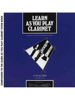 Learn As You Play: Clarinet (2CD) CDs | Clarinet