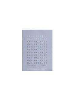 Bela Bartok: Mikrokosmos 5 (English/Spanish/Japanese/Portuguese) Books   Piano
