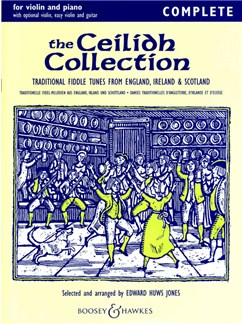 The Ceilidh Collection (Violin/Piano) Books | Violin, Piano Accompaniment (with Chord Symbols)