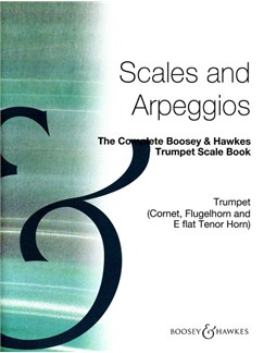 Complete Boosey And Hawkes Trumpet Scale Book Books | Trumpet (Cornet, Flugelhorn, Tenor Horn)
