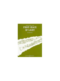 Peter Maxwell Davies: First Grace Of Light (Oboe) Books | Oboe
