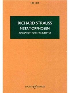 Richard Strauss: Metamorphosen (Realisation For String Septet) Books | String Septet: 2 Violins, 2 Violas, 2 Cellos, Double Bass