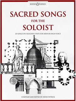 Sacred Songs For The Soloist Books | Medium Voice, Piano Accompaniment