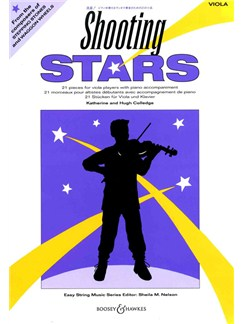 Katherine/Hugh Colledge: Shooting Stars (Viola/Piano) Books | Viola, Piano Accompaniment