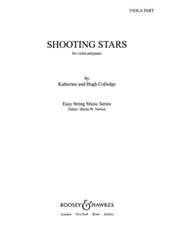 Katherine/Hugh Colledge: Shooting Stars (Viola Part) Books | Viola