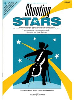 Katherine/Hugh Colledge: Shooting Stars (Cello/Piano) Books | Cello, Piano Accompaniment