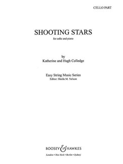 Katherine/Hugh Colledge: Shooting Stars (Cello Part) Books | Cello