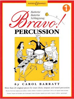 Carol Barratt: Bravo! Percussion - Book 1 Books | Percussion