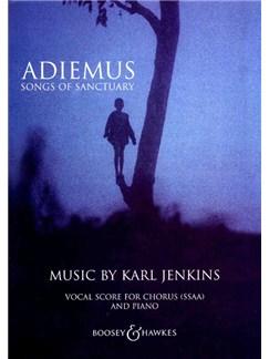 Karl Jenkins: Adiemus - Songs Of Sanctuary Vocal Score (SSAA) Books | SSAA, Recorder, Piano Accompaniment