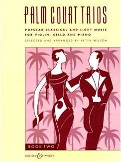 Palm Court Trios 2 Books | Cello, Piano, Violin