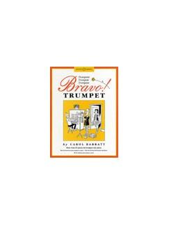 Carol Barratt: Bravo! Trumpet Books | Trumpet, Piano Accompaniment