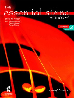 The Essential String Method: Violin - Book 4 Books | Violin