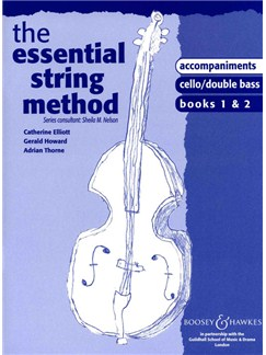 The Essential String Method: Lower Strings - Books 1/2 (Piano Accompaniments) Books | Piano Accompaniment