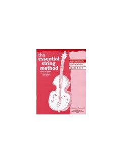 The Essential String Method: Violin and Viola Books 3/4 (Piano Accompaniments) Books | Piano Accompaniment, Violin, Viola
