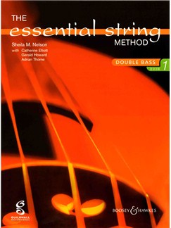 The Essential String Method: Double Bass - Book 1 Books | Double Bass