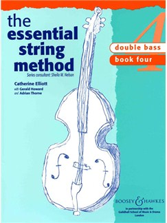 The Essential String Method: Double Bass - Book 4 Books | Double Bass