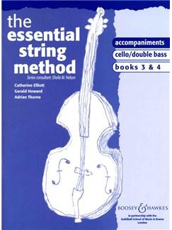 The Essential String Method: Lower Strings Books 3/4 (Piano Accompaniments) Books | Piano Accompaniment