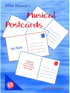 Mike Mower: Musical Postcards - Flute Books and CDs | Flute