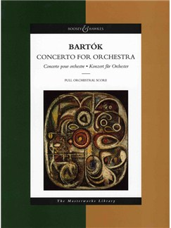 Bela Bartok: Concerto For Orchestra (Full Score) Books | Orchestra