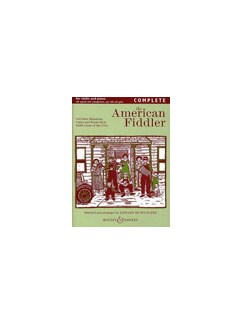 Edward Huws Jones: American Fiddler (Violin/Piano) Books | Violin, Piano Accompaniment