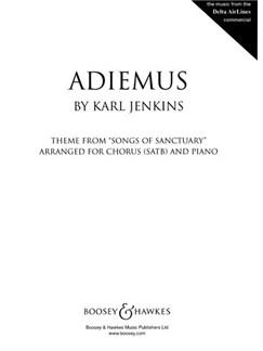 Karl Jenkins: Adiemus (SATB) Books | SATB, Piano Accompaniment