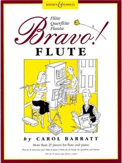 Carol Barratt: Bravo! Flute Books   Flute, Piano Accompaniment