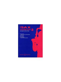 Sax Ensemble 3 (Score/Parts) Books | Saxophone (Quartet)