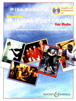 Mike Mower: Junior Musical Postcards (Flute) Books and CDs | Flute