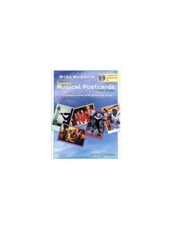 Mike Mower: Junior Musical Postcards (Violin) Books and CDs | Violin