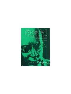 Serge Prokofiev: Concertino For Cello And Orchestra Op.132 Books | Cello, Piano Accompaniment