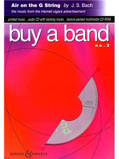 J.S. Bach: Air On The G String - Buy A band No.2 CD-Roms / DVD-Roms | All Instruments