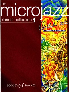 Christopher Norton: Microjazz Clarinet Collection 1 Books | Clarinet, Piano Accompaniment
