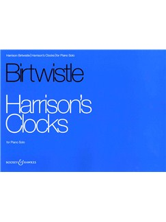 Harrison Birtwistle: Harrison's Clocks Books | Piano