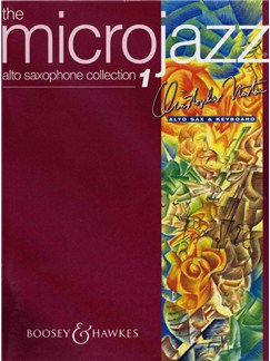 Christopher Norton: The Microjazz Alto Saxophone Collection 1 Books | Alto Saxophone, Piano Accompaniment