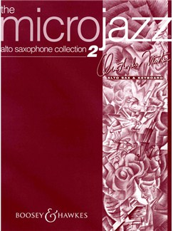 Christopher Norton: The Microjazz Alto Saxophone Collection 2 Books | Alto Saxophone, Piano Accompaniment