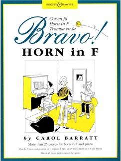 Bravo Horn Books | Horn, Piano Accompaniment