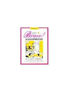 Bravo Saxophone Alto Sax/Pno Books | Alto Saxophone, Piano Accompaniment