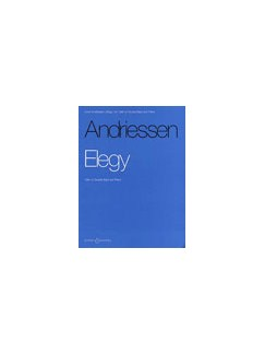 Louis Andriessen: Elegy Books | Cello or Double Bass, Piano Accompaniment