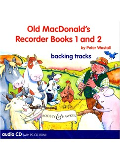 Peter Wastall: Old MacDonald's Recorder Books One And Two (CD Backing Tracks) CD-Roms / DVD-Roms | Recorder