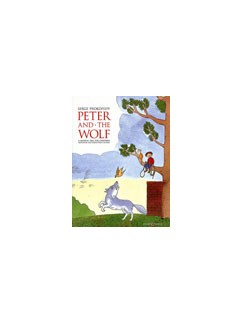 Serge Prokofiev: Peter And The Wolf (Easy Piano Picture Book) Books | Piano, String Instruments, Flute, Oboe, Clarinet, Bassoon, Horn