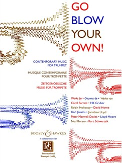 Go Blow Your Own! Books | Trumpet, Piano Accompaniment