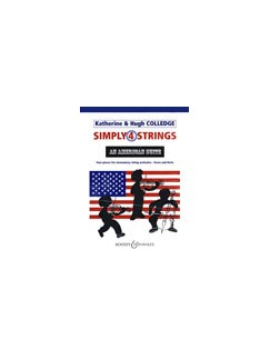 Katherine/Hugh Colledge: Simply 4 Strings - An American Suite (Score/Parts) Books | String Orchestra