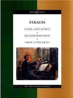 Richard Strauss: Four Last Songs/Metamorphosen/Oboe Concerto (Full Score) Books | Orchestra