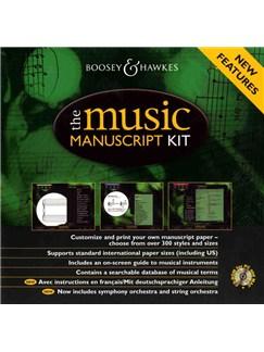 The Music Manuscript Kit - CD ROM CD-Roms / DVD-Roms |