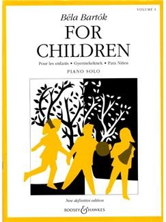 Bela Bartók: For Children Volume One Books | Piano