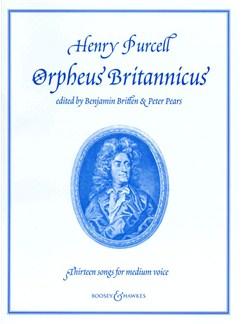 Henry Purcell: Orpheus Britannicus Books | Piano Accompaniment, Medium Voice